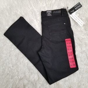 Buffalo by David Bitton black mid-rise jeans